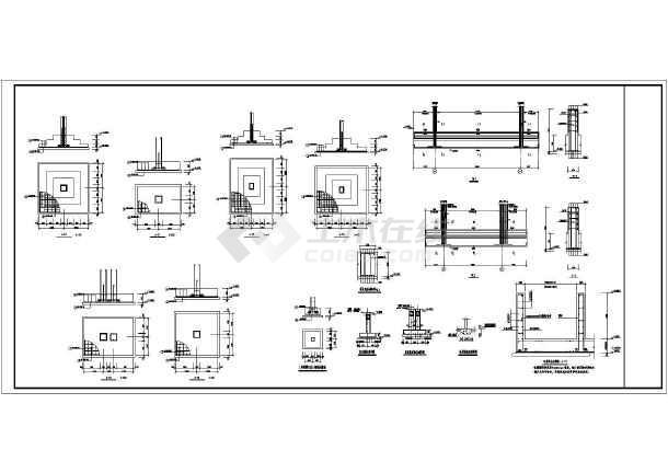 安哥拉4层框架结构宾馆结构施工图