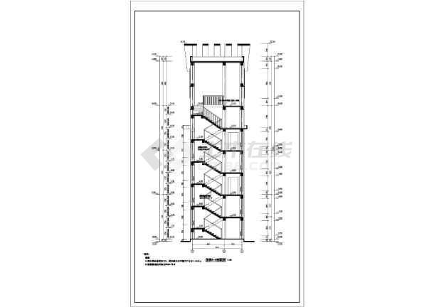 框架结构建设面积170平方米,高度22.5米,钟塔兼容消防水箱间.