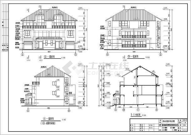 广州某别墅施工图
