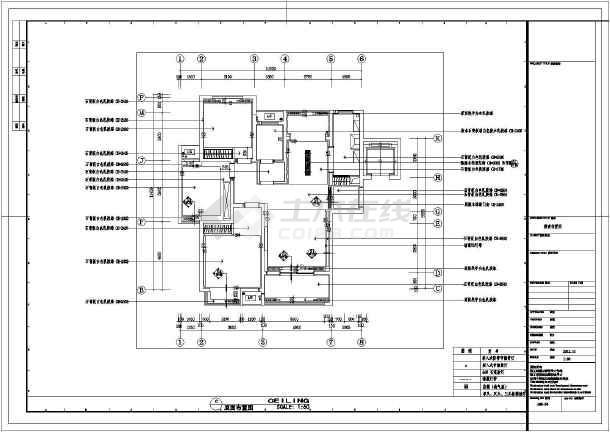 三室一厅照明设计图展示