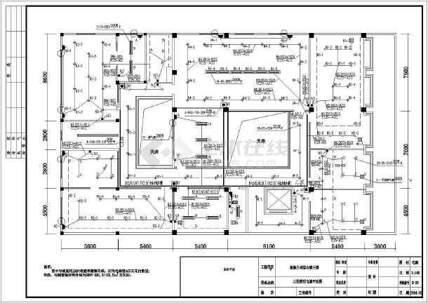 室内水电安装设计图图片-水电安装设计图