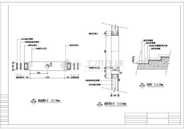 个性三层别墅施工建筑设计图(含高清效果图)