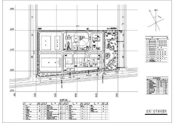 饲料厂平面设计图_【盐城市】郊区某农药厂总平面布置图_cad图纸下载-土木在线