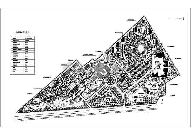 小型养猪场整体规划设计平面图