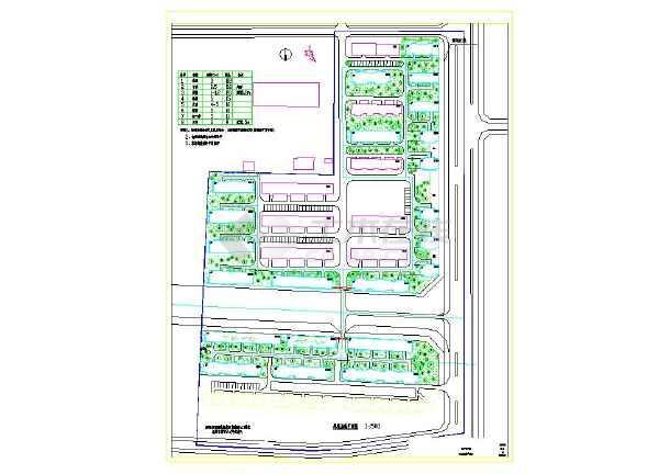东方住宅小区全套绿化总平面cad设计施工图室内设计工作室广告词图片