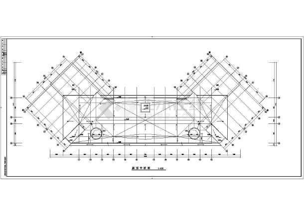 某地中学教学楼建筑施工图(最新)