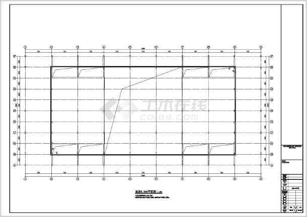 某地2层钢结构滑雪场建筑设计方案图