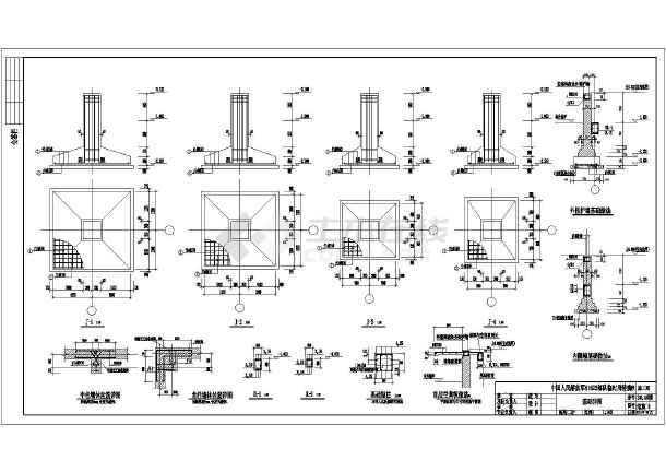 8度区3层框架钢结构施工结构全套图纸