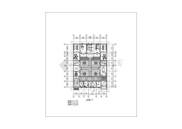 建筑图纸   住宅cad图纸   户型图   共1张立即查看 仿北京四合院