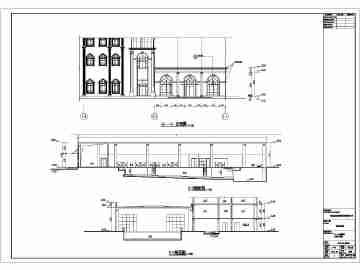 青岛理工大学琴岛学院室内游泳馆建筑设计施工图