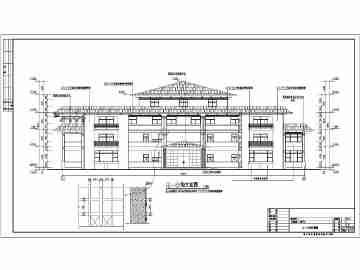 3层民房建筑设计图