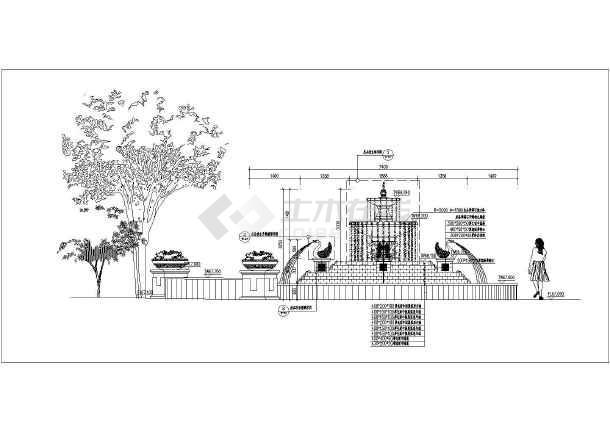 校园广场水景设计