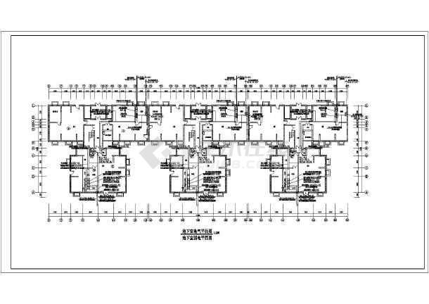某地区保障性住房建设项目电气设计图纸图片2图片