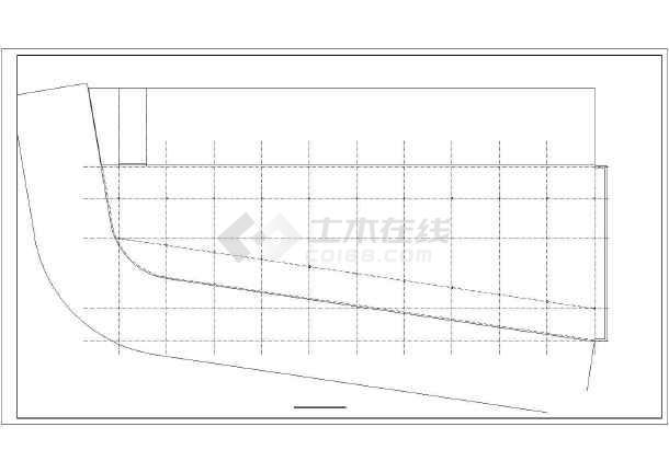 钢结构单层车间施工图-图1