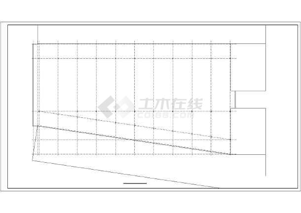 钢结构单层车间施工图-图2