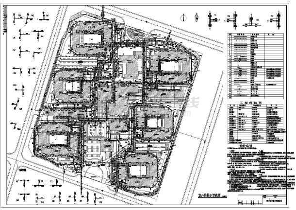 绿化cad图纸   居住区绿化   立即查看 居住小区绿化设计总平面图