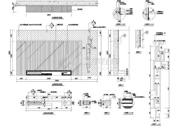 学校围墙基础结构图