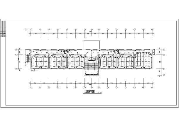 某地三层砖混结构小学教学楼电气全图