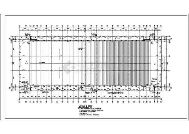 北方某复合结构厂房建筑设计施工图纸