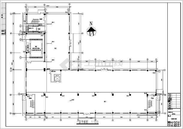 某厂区五层集体宿舍给排水施工图纸