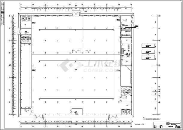 服装厂厂区规划平面图 服装厂房设计图 服装厂房设计平面图 建筑电气
