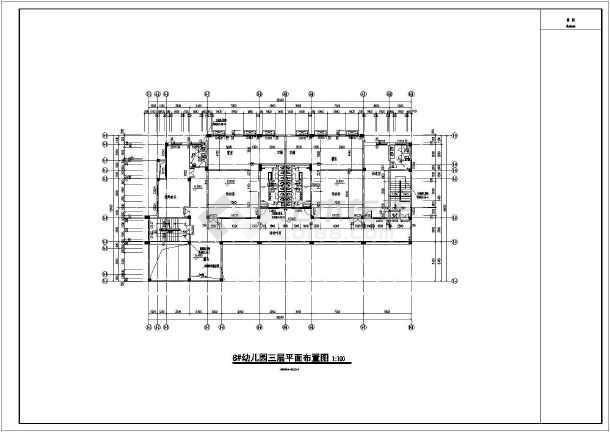 龙游两层框架结构拓展基地建筑设计施工图