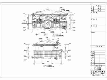 农村二层别墅平面图-6000套农村别墅平面图