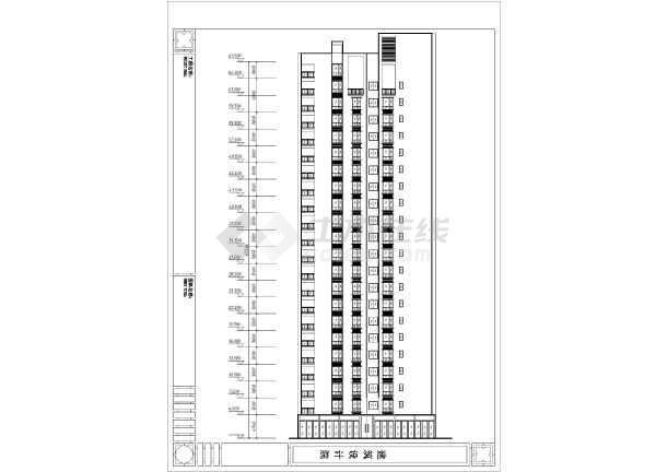 某住宅小区高层图纸建筑方案设计住宅10平米狭长的卧室怎么设计图图片