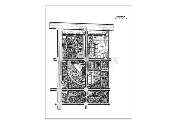 图纸主要内容包含:住宅小区,商业建筑,小学建筑,办公商业配套,物业