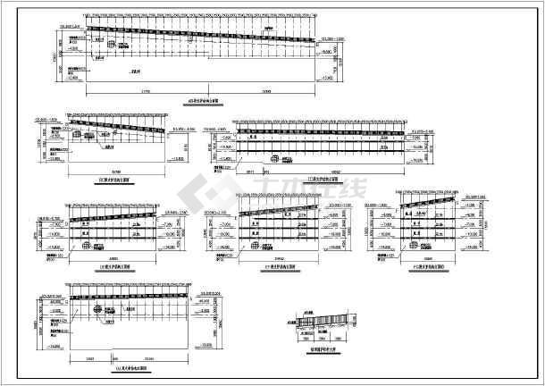 某岩石基坑支护方案结构设计施工图
