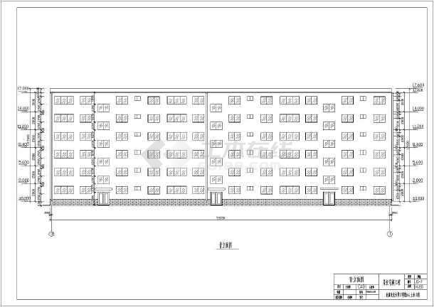 房屋建筑学优秀课程设计住宅楼建筑方案图