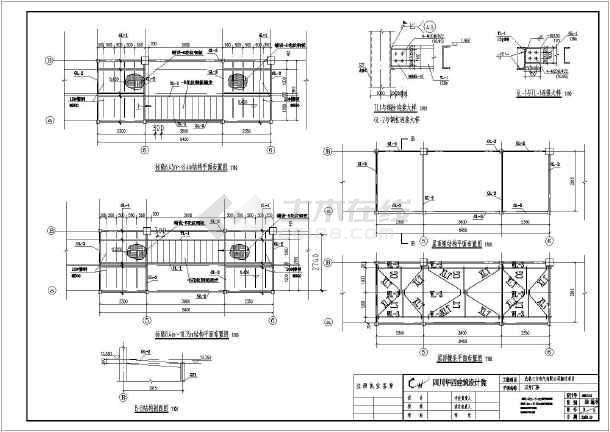 成都某打印详图消防项目楼梯结构_cad图干3d图纸的是笔搬迁嘛图片