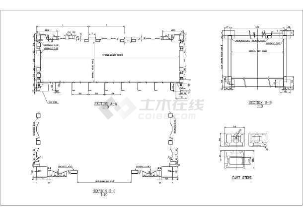 某地区十二米长集装箱房的施工酒店消防图纸设计图纸图片