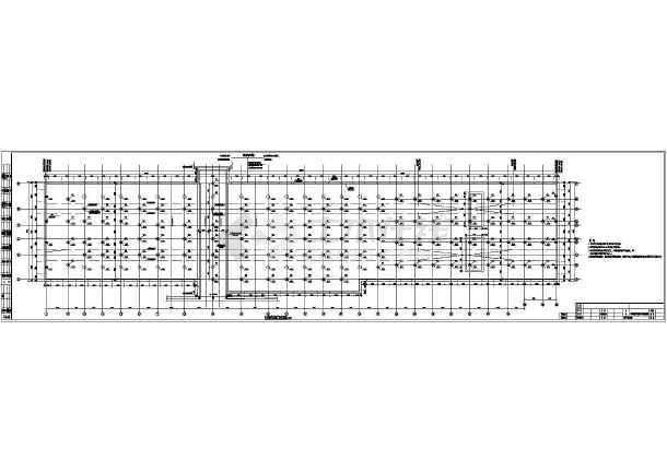 南京某地铁结构区间图纸车站施工图_cad部分cad打开无法天正图片