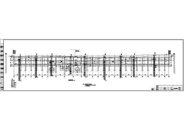 南京某地铁图纸车站封面区间施工图_cad部分毕业设计cad结构图片