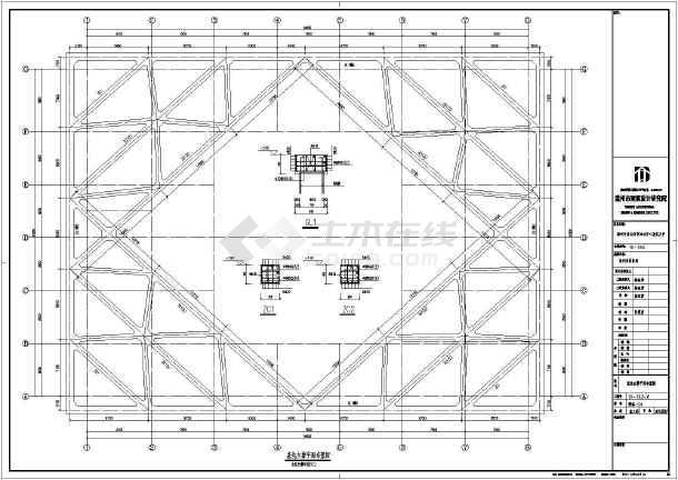 结构图  地基基础图纸  基坑支护图纸  温州淤泥土层中排桩,内支撑