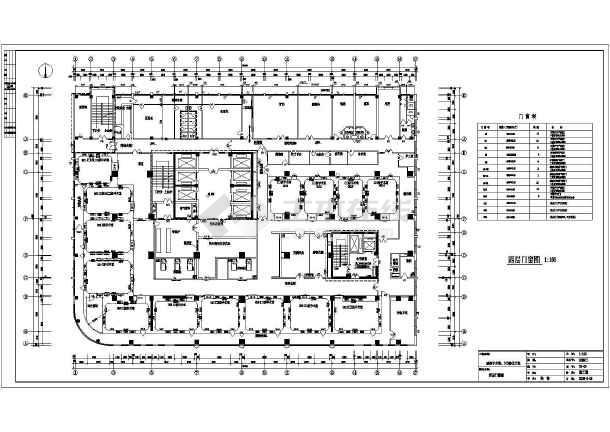 某地医院洁净手术室室内装修设计方案图 图2 高清图片