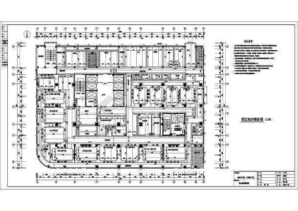 某地医院洁净手术室室内装修设计方案图 图3 高清图片