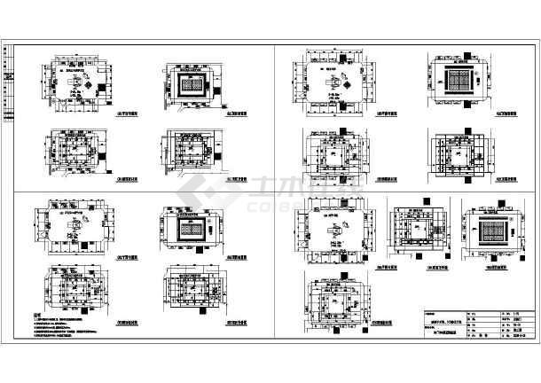 某地医院洁净手术室室内装修设计方案图 图5 高清图片