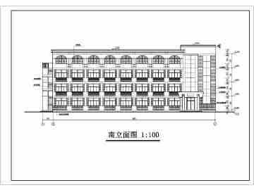砖混结构宿舍设计