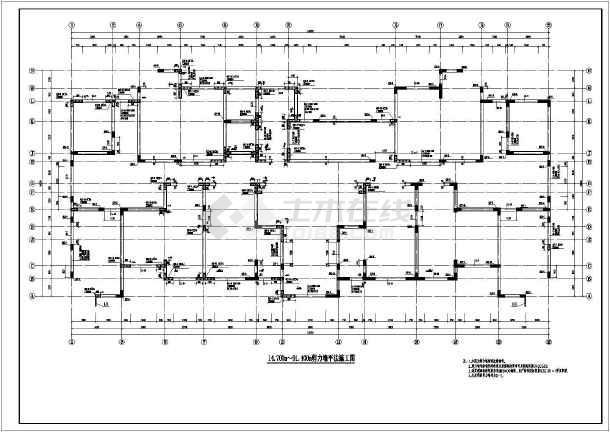 某地32层剪力墙结构住宅全套结构施工图