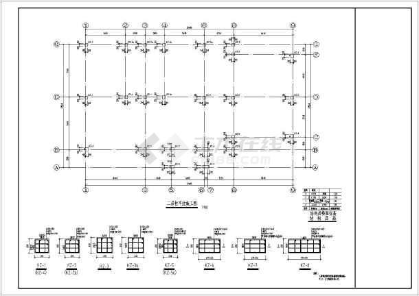 经典欧式别墅(似洋房,建筑+结构图)