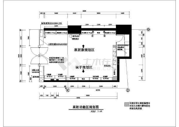 店铺装修设计图纸,图纸包含:图纸目录,材料表,平面布置,天花布置,天花