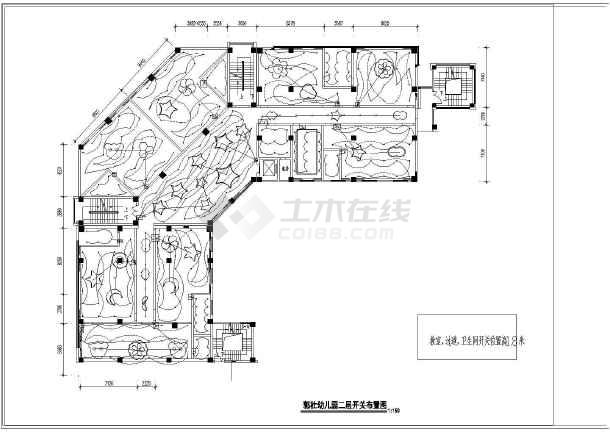 【西安】幼儿园室内设计装饰工程cad图纸