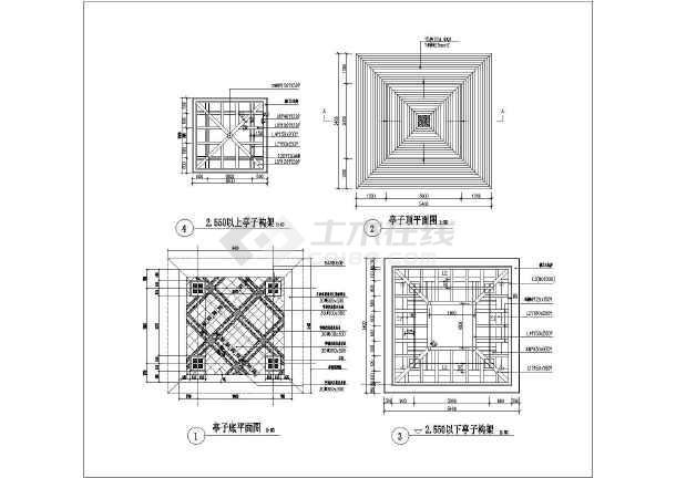 【湖南】某现代式软件木亭v软件施工图_cad图什么图纸画窗户双层用图片