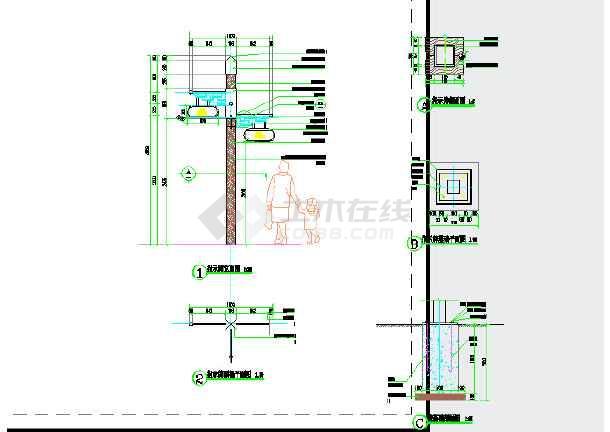 【佛山】长廊公园景观指示牌设计施工图