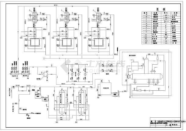 某居住小区锅炉房工艺设计施工图纸图片