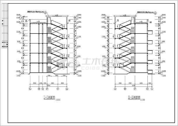 某单元式多层住宅楼混合结构施工图