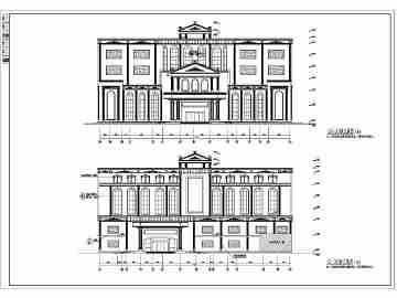 宾馆建筑设计图纸