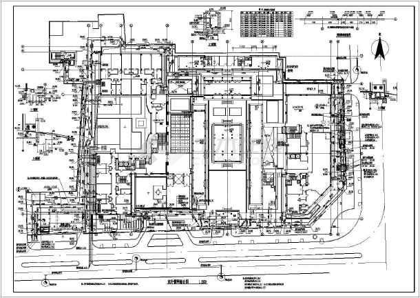 给排水圆圈中一个图纸里上面是W中间是古北下图纸嘉年下载一横华庭建筑图片